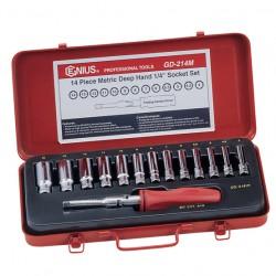 Impact sockets, driver bits, hand tools, tool storage